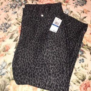 Michael Kors leopard pants NWT! XL